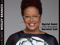 Harriette Cole on The Robert Wesley Branch Show May 7 2016