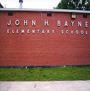 John H Bayne Elementary School 185x188
