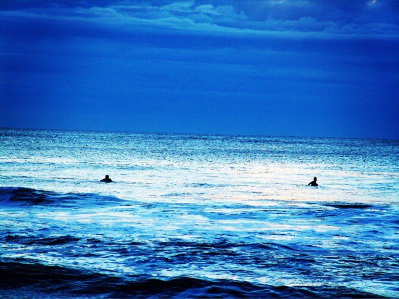 The beach at Ocean City, Maryland. 6:30 a.m.