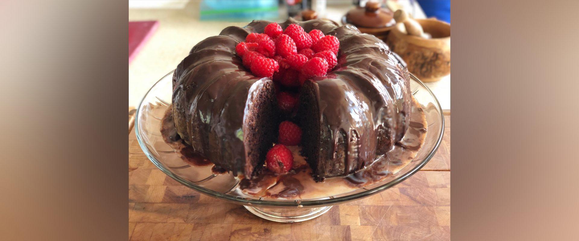 Permalink to: Bourbon Chocolate Cake