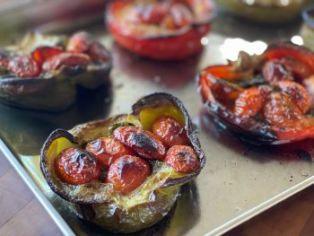 Permalink to: Roasted Stuffed Peppers